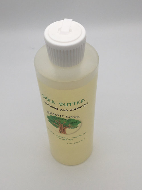 Shea Butter Shampoo and Conditioner
