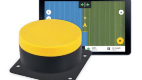 Handmatig sturen met Fieldbee GPS op ongeveer 25 centimeter nauwkeurig