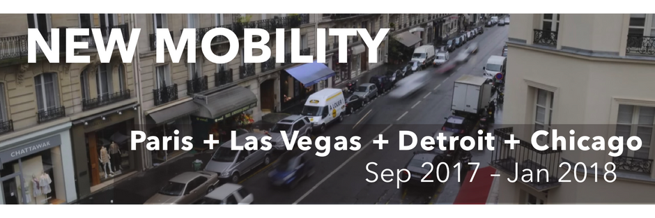 Coming to CES 2018 - Our top 5 startups from the New Mobility Program!