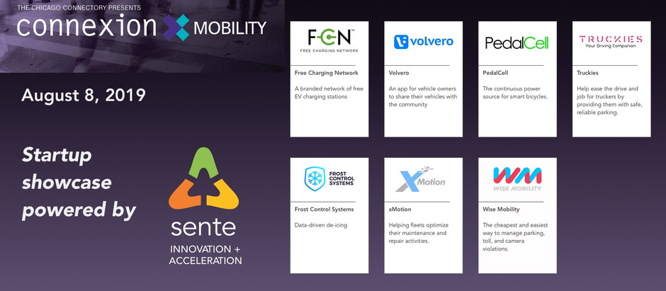 Meet the startups at Connexion Mobility at the Chicago Connectory
