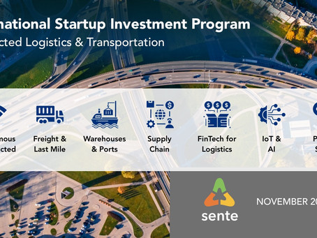 LogisticsTech: Investing in Startups Creating the Future of Logistics, Supply Chain & Transportation
