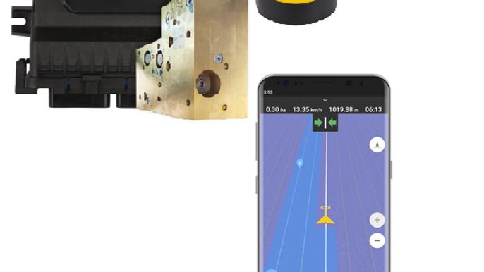 Fieldbee RTK GPS autosteer