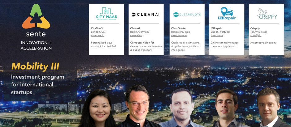 These 5 startups are coming to the US and receiving investment from our Mobility III program