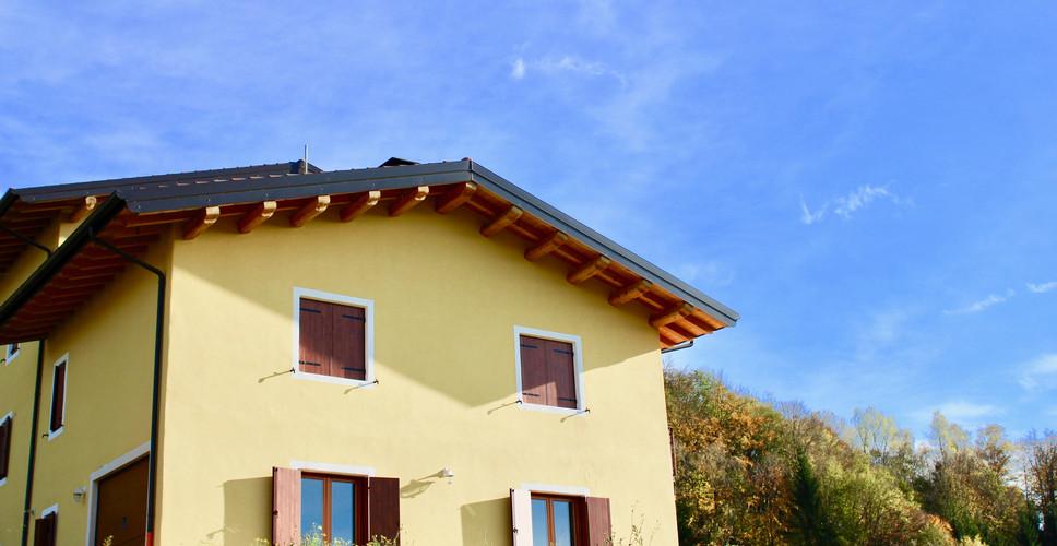 Una casa in paglia in Lessinia (Verona)