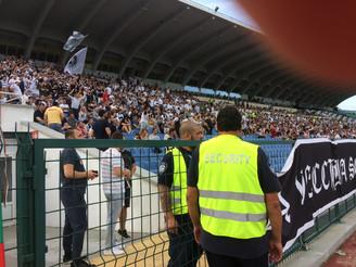 """Международна футболна среща на Национален стадион """"Васил Левски"""", охранявана от VTA Securi"""