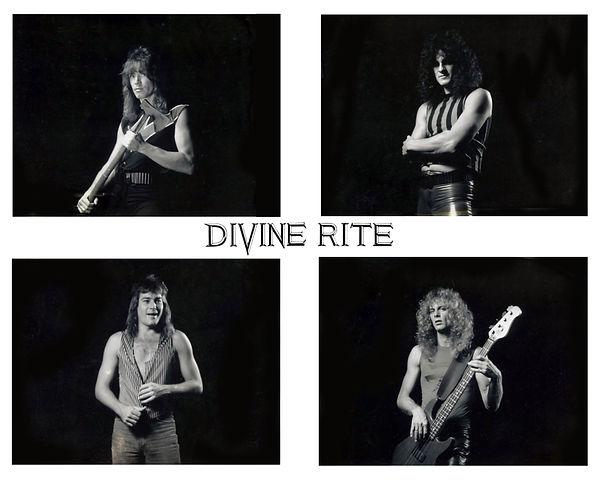 Divine Rite, 1st photo shoot