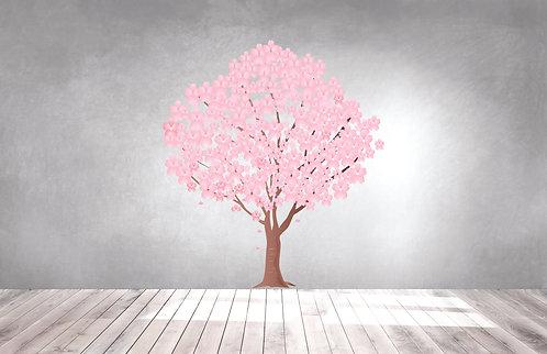 Cherry Blossom Decal