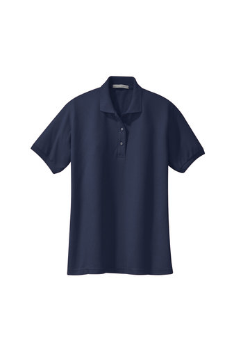 Port Authority® Ladies Silk Touch™ Polo with Left Chest Embroidery Polo