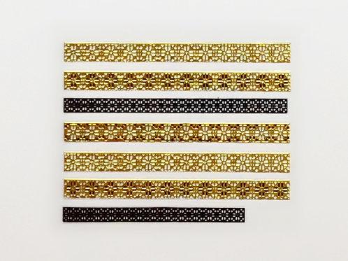 Gold & Black 691