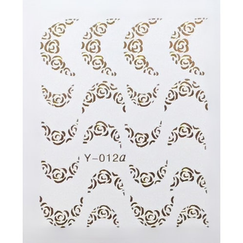 Water Decal - Gold 10