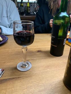 Straight Stem Wine Glass