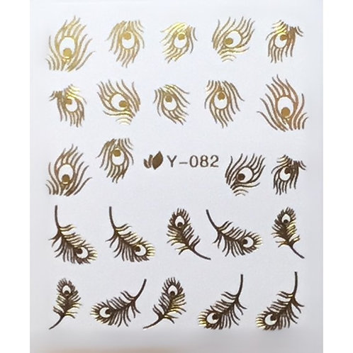 Water Decal - Gold 23