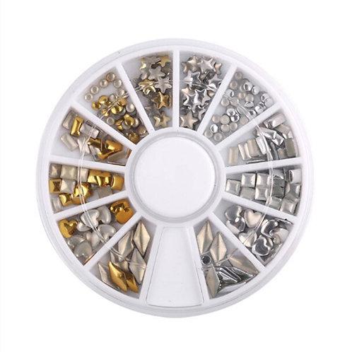 Wheel Mixed Gold & Silver