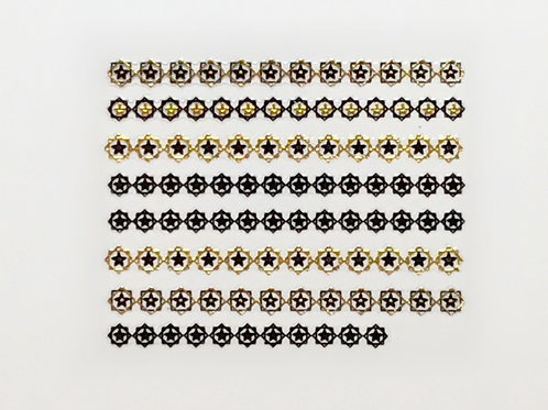 Gold & Black 690