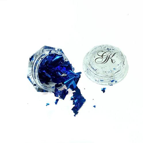 Blue Foil Leaf