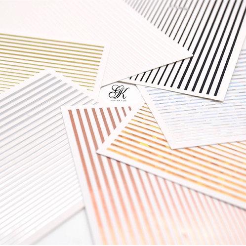 Flexible Line Stickers