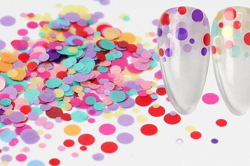 Shape Glitter -Solid Circles