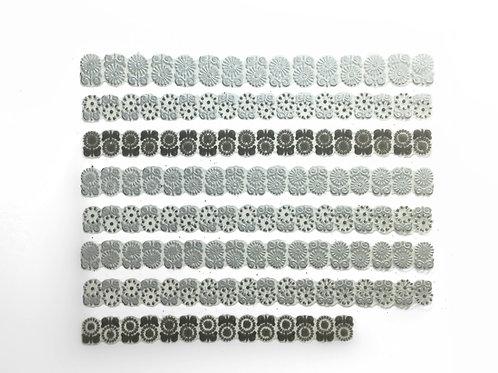 Silver & Black 681