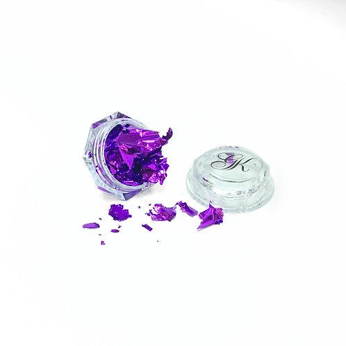 Purple Foil Leaf