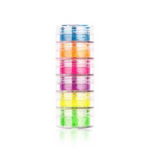 Neon Pigment Powder Tower