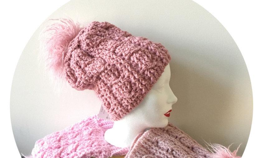 Crochet Cable Toque