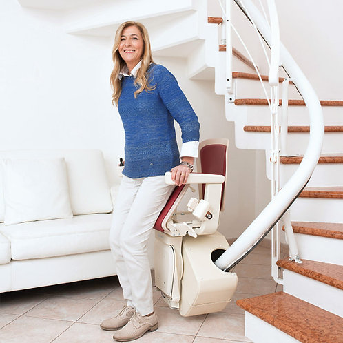 Freecurve Curved Stair Lift System Mobility Connection