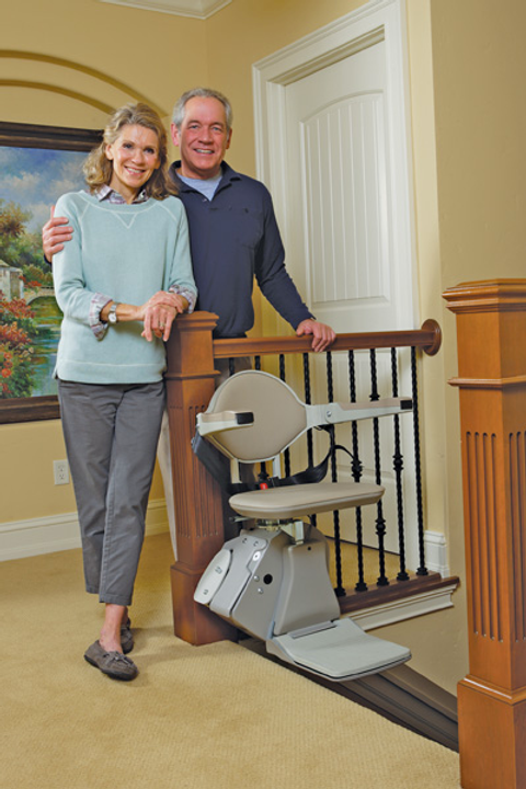 Bruno SRE 3000 Straight Rail Stair Lift System