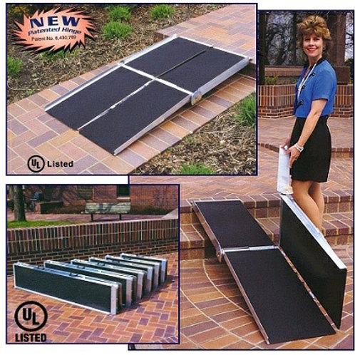 8' Multi-Fold Wheelchair Ramp