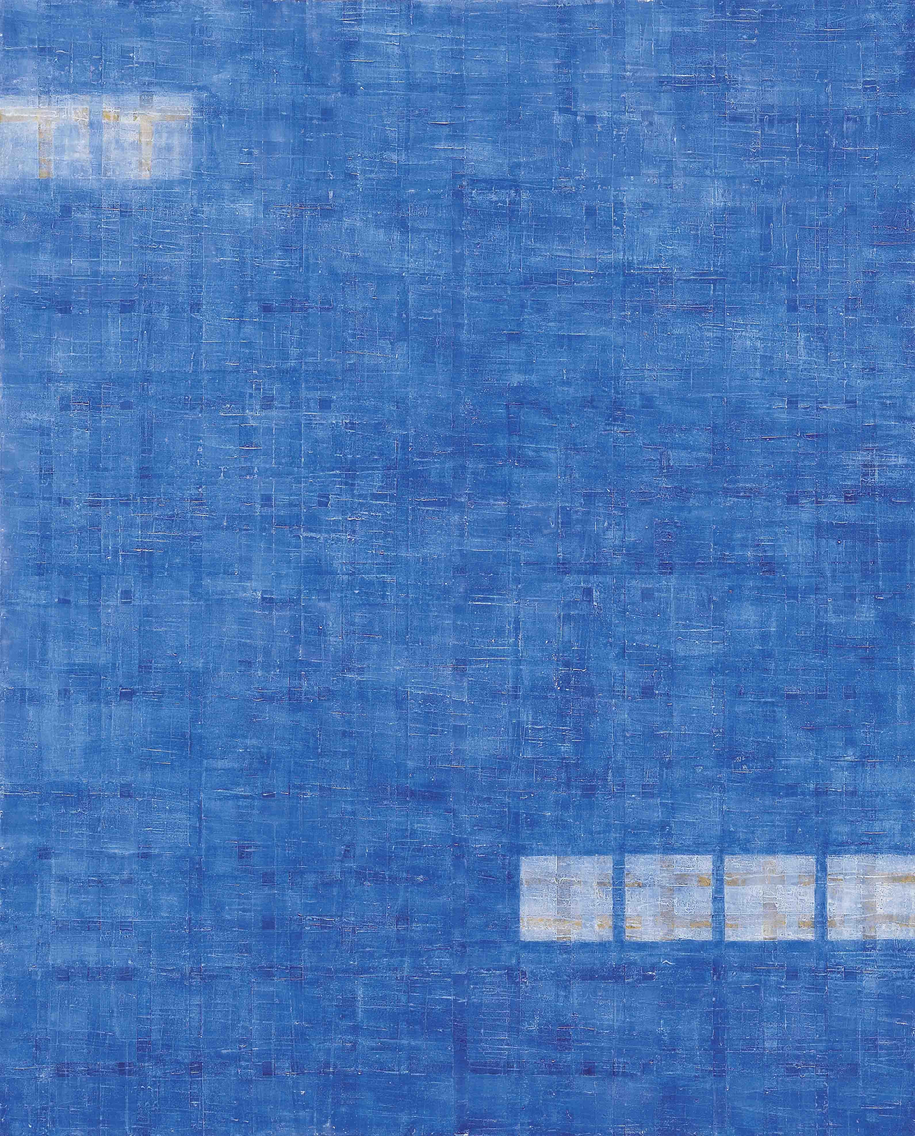 결-새벽별 130×162cm  한지,먹, 채색  2008