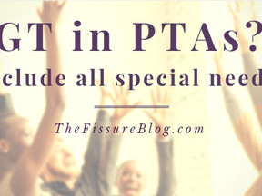 GT in PTAs?  Include all special needs!