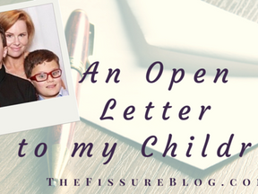An Open Letter to My Children