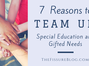 7 Reasons to Team Up: Special Education and Gifted Needs