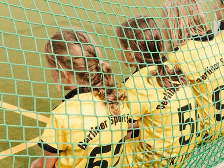 Mädchen B spielen um die Ostdeutsche Meisterschaft