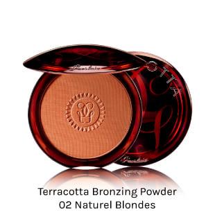 GUERLAIN TERRACOTTA BRONZING POWDER. Polvo compacto efecto bronceante para todo tipo de piel.