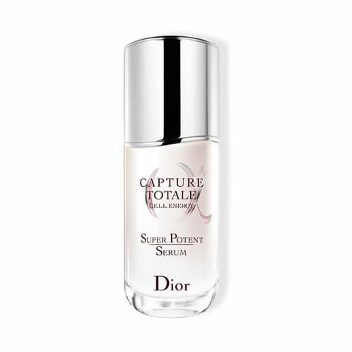 CAPTURE TOTALE SUPER POTENT SERUM. El mejor sérum antiedad global nacido de la investigación de las células madre y de la especialización floral de Dior.