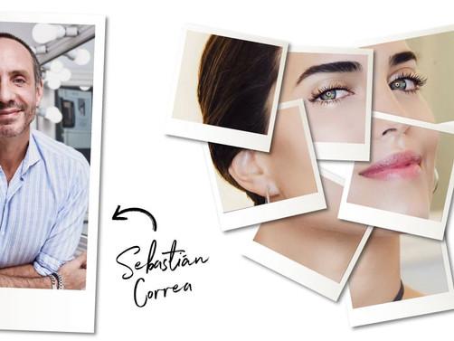 Piel protagonista: Tutorial de Sebastián Correa para Givenchy