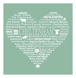 Cheltenham Heart - Meadow Green