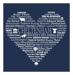 Cheltenham Heart - Charcoal