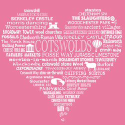 Cotswold Heart - Rose