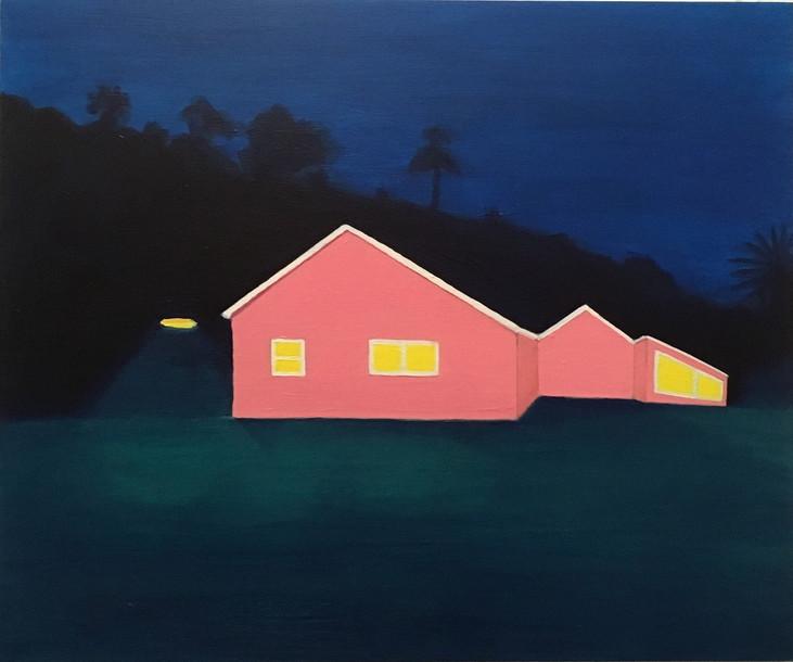 'Twilight in Dark Bay'