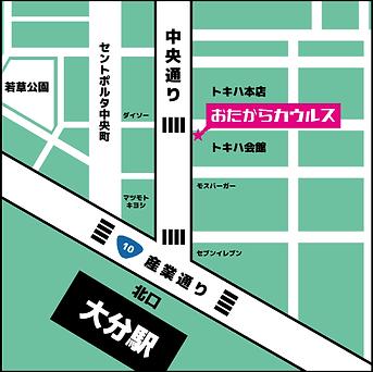 カウルス地図