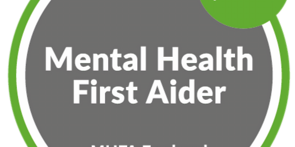 Mental Health First Aid - Online July 2021