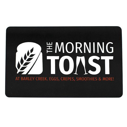 Moring Toast Gift Card