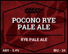 Pocono Rye Pale Ale