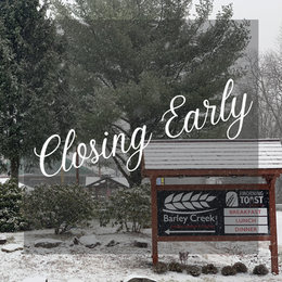 Closed Early For Storm
