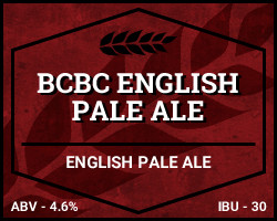 BCBC English Pale Ale