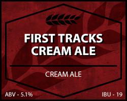 First Tracks Cream Ale