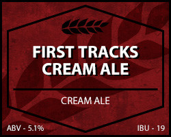First Tracks Cream Ale
