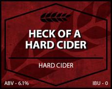 Heck of a Hard Cider