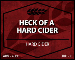 Heck of a Hard Cider